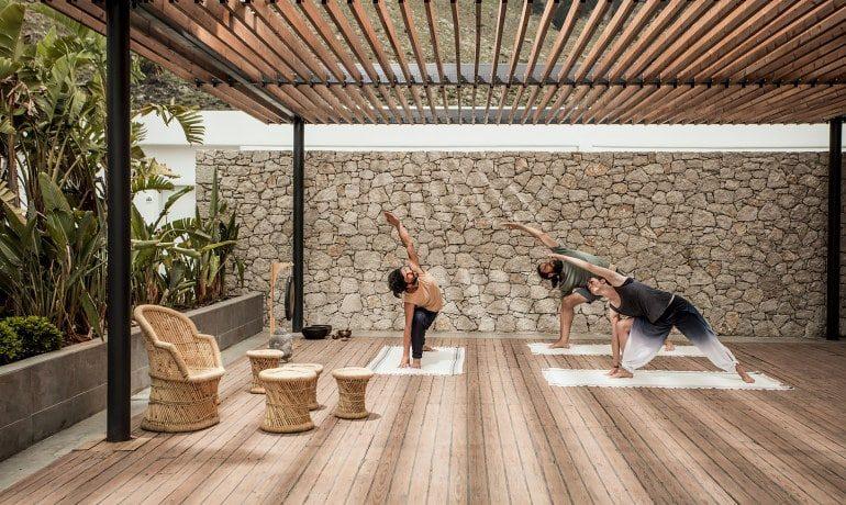 Casa Cook Rhodes yoga