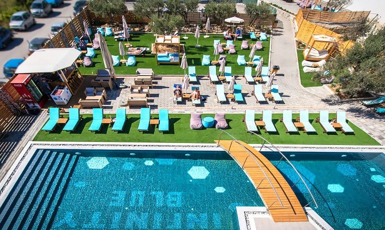Infinity Blue Boutique Hotel & Spa Area view