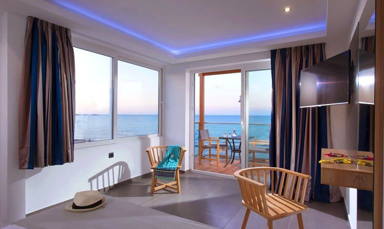 Infinity Blue Boutique Hotel & Spa Deluxe suite view
