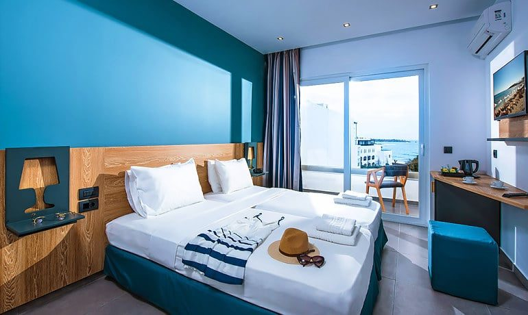 Infinity Blue Boutique Hotel & Spa Double room sea view