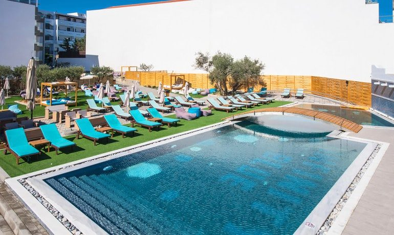 Infinity Blue Boutique Hotel & Spa Pool