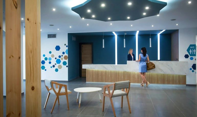 Infinity Blue Boutique Hotel & Spa Reception