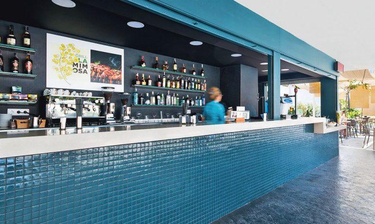 Aqua Hotel Silhouette & Spa grill la mimosa