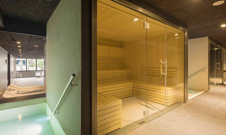 Aqua Hotel Silhouette & Spa sauna