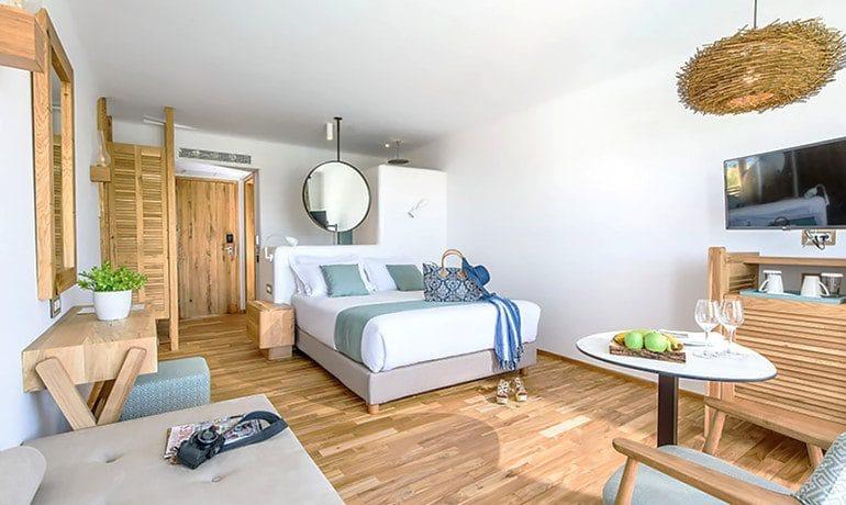 Stella Island Luxury Resort & Spa double pool view