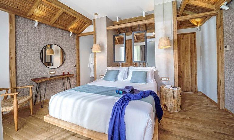 Stella Island Luxury Resort & Spa over water bungalow