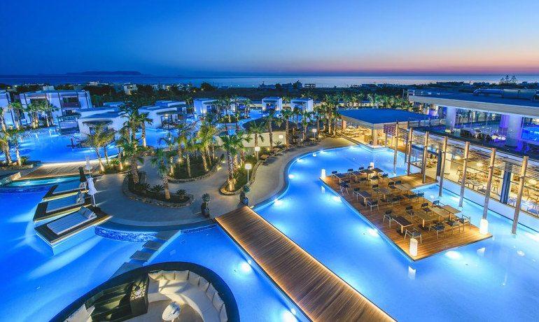 Stella Island Luxury Resort & Spa top view