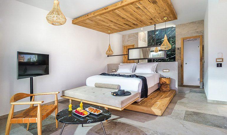 Stella Island Luxury Resort & Spa villa private pool room interior