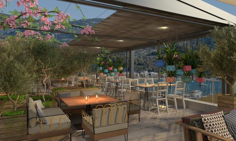 Bikini Island & Mountain Hotel Port de Soller bar