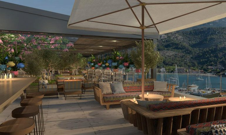 Bikini Island & Mountain Hotel Port de Soller bar terrace