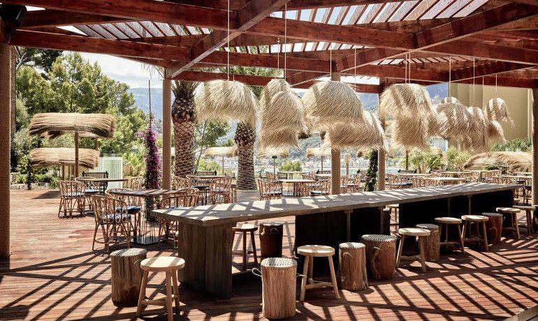 Bikini Island & Mountain Hotel Port de Soller adults only Mallorca bar area