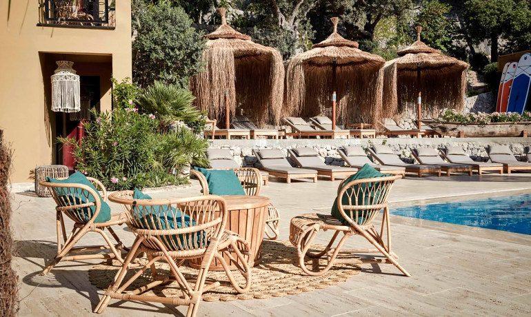 Bikini Island & Mountain Hotel Port de Soller adults only Mallorca pool area