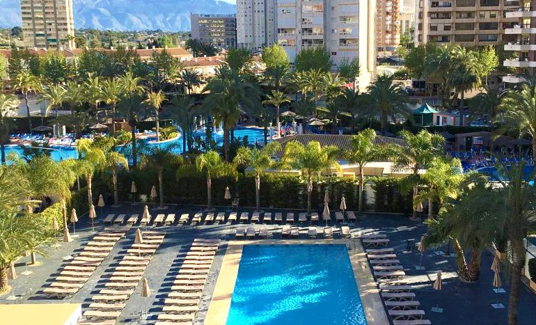 Flash Hotel Benidorm pool view