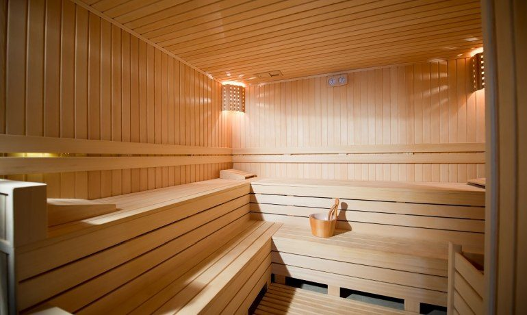 Numa Beach & Spa sauna