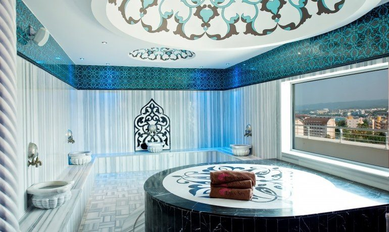 Numa Beach & Spa turkish bath