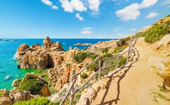 Sardinia sea view