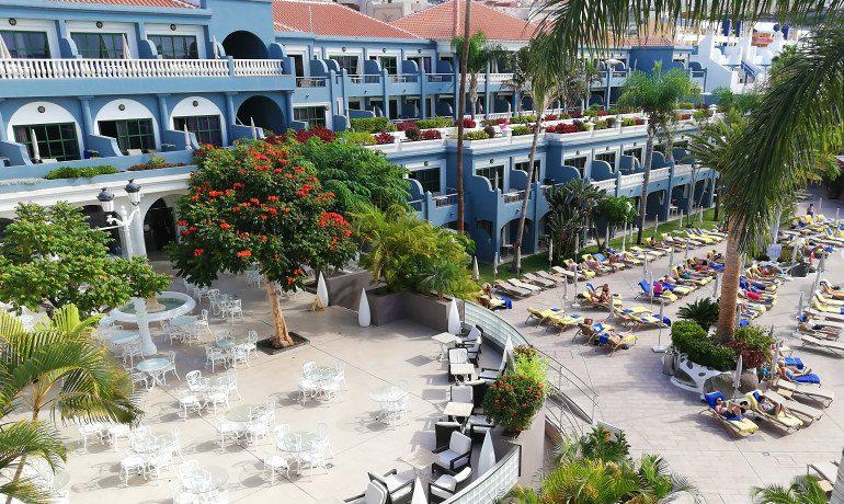 Colon Guanahani hotel terrace