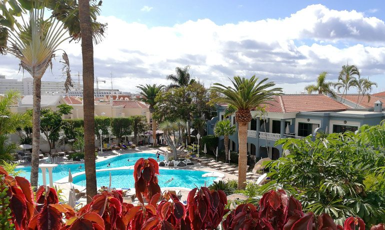 Colon Guanahani hotel top view