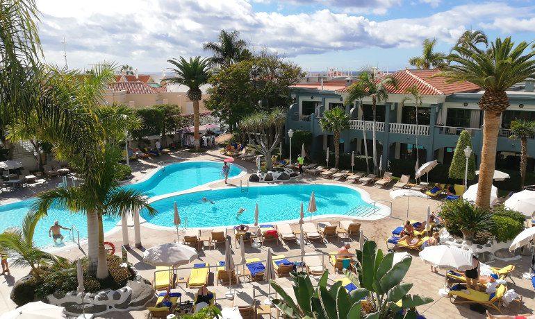 Colon Guanahani pool top view