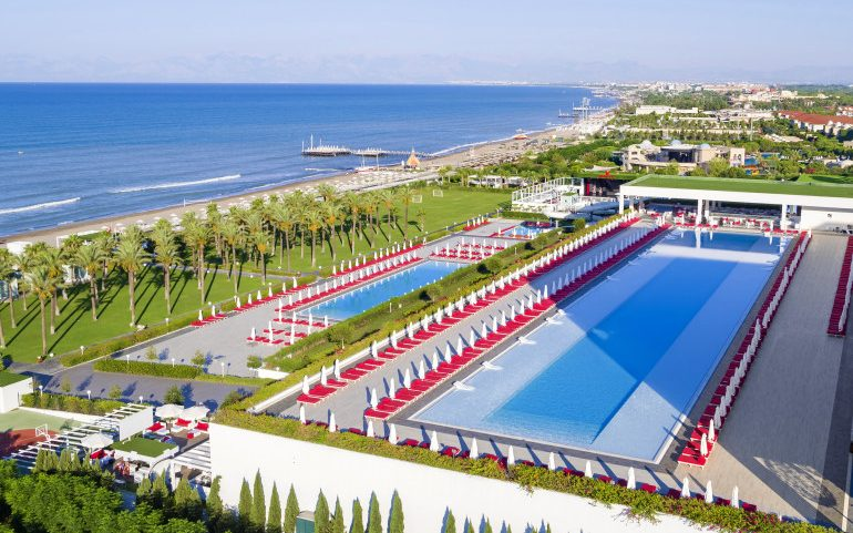 Adam & Eve Hotel Belek beach view