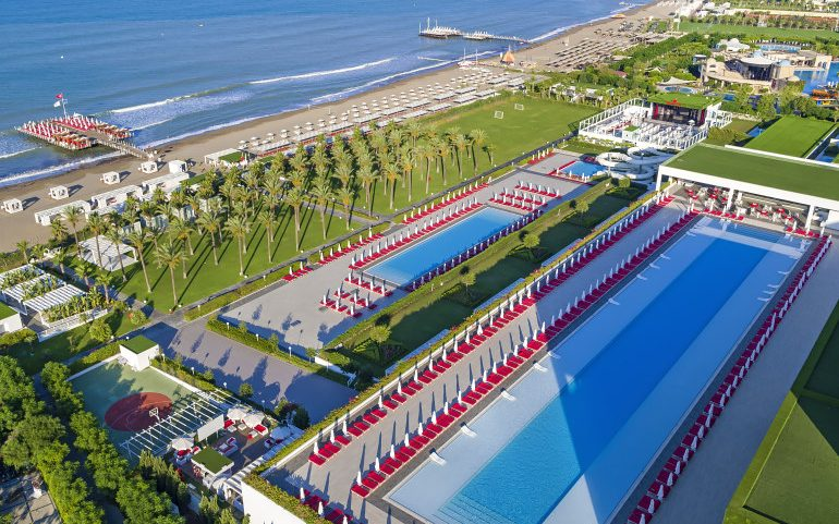 Adam & Eve Hotel Belek pools
