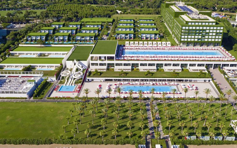 Adam & Eve Hotel Belek view