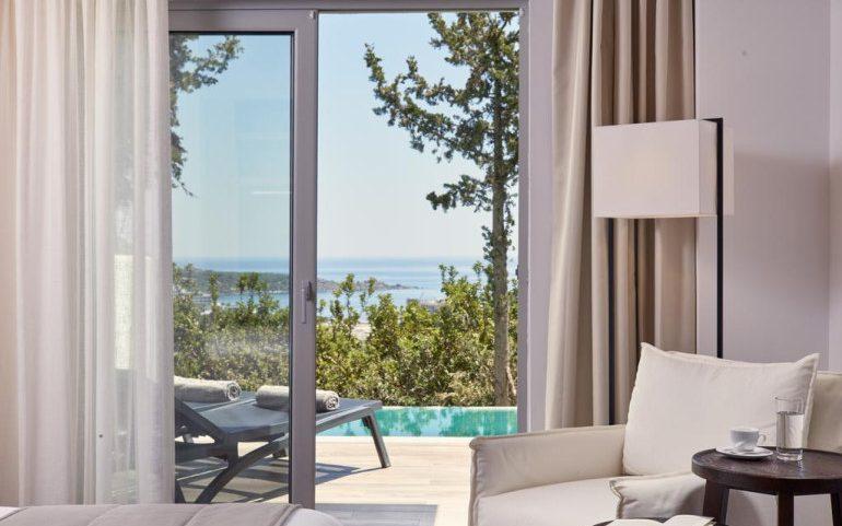 Esperos Village Blue & Spa room terrace
