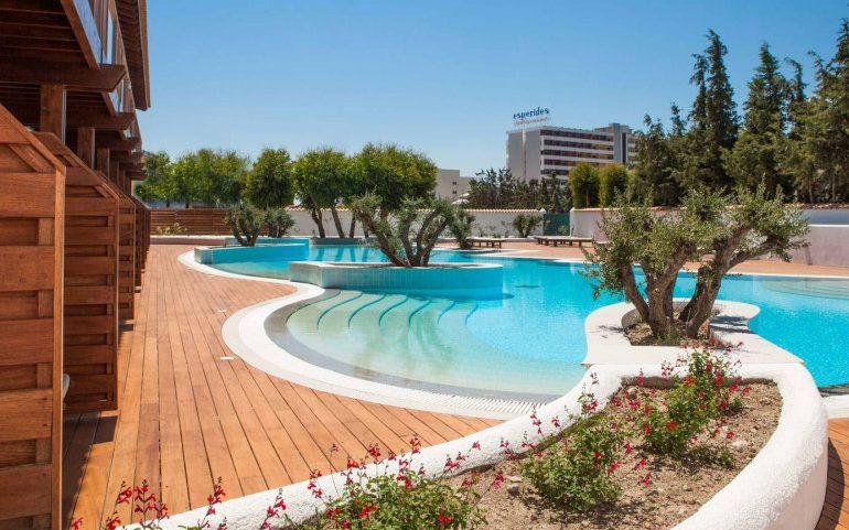 Esperos Village Blue & Spa shared pool