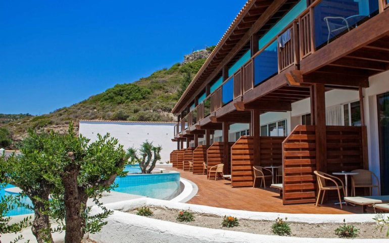 Esperos Village Blue & Spa superior room