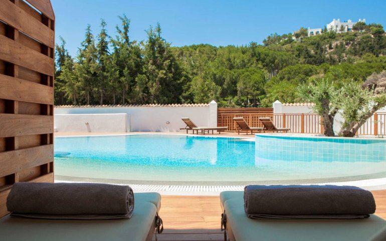 Esperos Village Blue & Spa superior room terrace