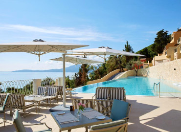 Marbella Nido Suite adults only hotel in Corfu, Greece