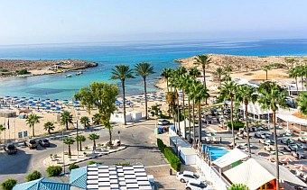 View from Ayia Napa hotel